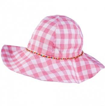 Панамка для девочек Tutu 3-004589 бело-розовый