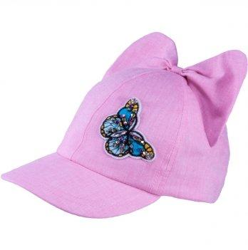 Бейсболка хлопковая для девочек Tutu 3-004597 розовый