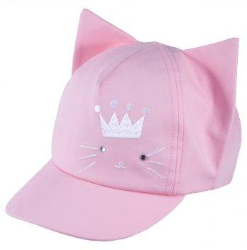 Бейсболка хлопковая для девочек Tutu 3-004600 розовый