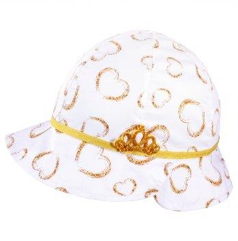 Панамка для девочек Tutu 3-004621 золотой