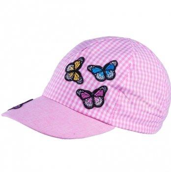 Бейсболка хлопковая для девочек Tutu 3-004630 розовый