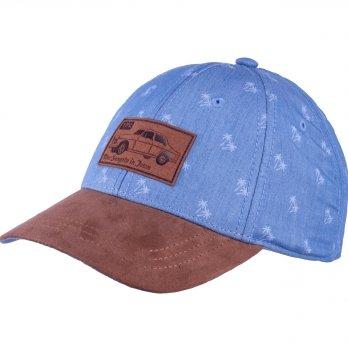 Стильная бейсболка для мальчика Tutu 3-004648 голубой