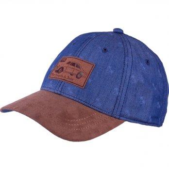 Стильная бейсболка для мальчика Tutu 3-004648 синий