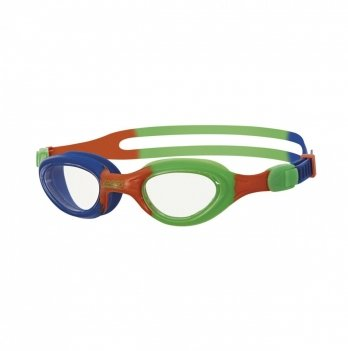 Очки для плавания Zoggs Little Super Seal, возраст до 6 лет, синие/зеленые