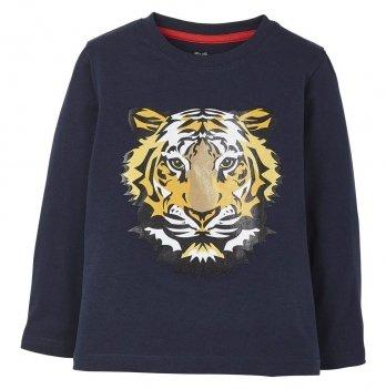 Реглан для мальчика Lupilu Тигр синий