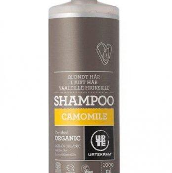 Органический шампунь для светлых волос Urtekram Ромашка, 1 л