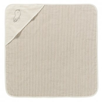 Полотенце-уголок для младенцев Lupilu бежевое 75x75 см
