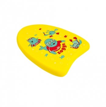 Тренировочная доска для плавания Zoggs Mini Junior Kickboard