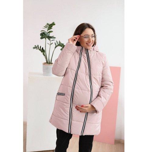 Зимняя куртка для беременных To Be Пудровый 3044274