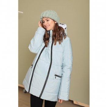 Зимняя куртка для беременных To Be Лазурный 3044274