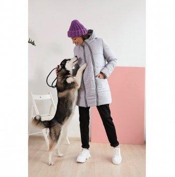 Зимняя куртка для беременных To Be Серый 3044274