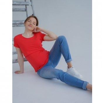 Джинсы для беременных To Be Серо-голубой 3069461-11