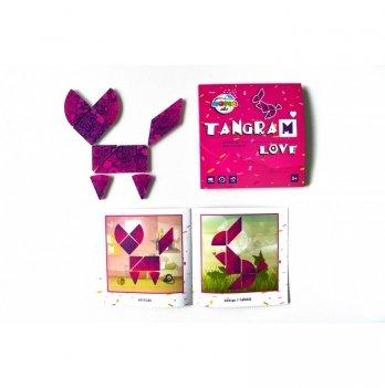 Магнитный Танграм Сердце, Home-ABC