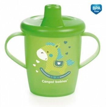 Кружка-непроливайка Canpol babies Toys, 250мл, зеленая