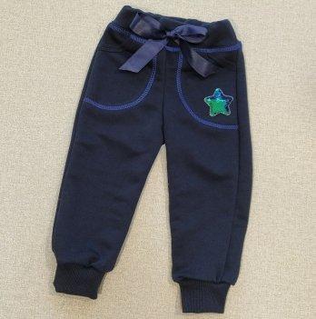 Штаны для девочки PaMaYa 31-36-2 Тёмно-синий 3-7 лет