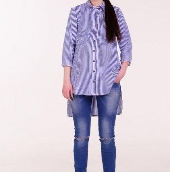 Рубашка, White Rabbit Fly (синяя полоска)