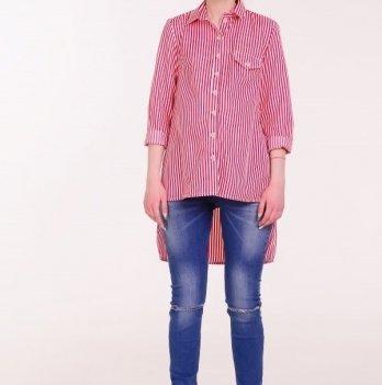 Рубашка, White Rabbit Fly (красная полоска)