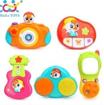 Комплект подвесных музыкальных игрушек Huile Toys 5 шт.