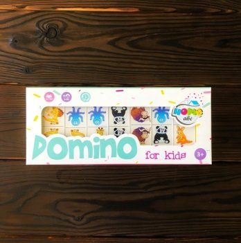 Домино Animals white set, Home-ABC