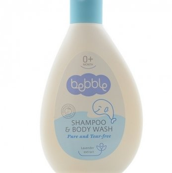 Шампунь для волос и тела детский Bebble 200 мл