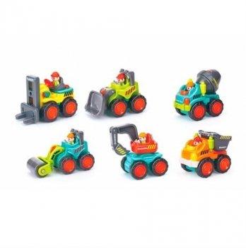 Набор игрушек Huile Toys 3116B Рабочая машинка 12 шт