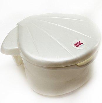 Контейнер для купальных принадлежностей Okbaby Corall, белый