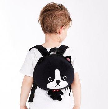Детский рюкзак SuperCute Собачка, черный