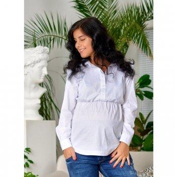 Блуза для беременных и кормящих To Be Белый 4203065