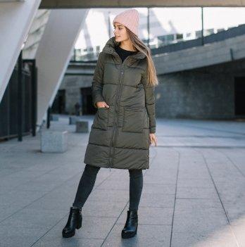 Куртка зимняя для беременных и слингоношения Love & Carry® Олива