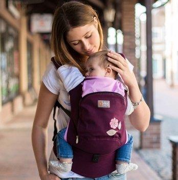 Эрго-рюкзак Love & Carry AIR Мудрые птички