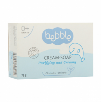 Крем-мыло детское Bebble 75 г 3 шт.