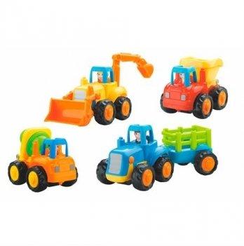 Игрушка Hola Toys 326 Грузовичок 4 шт