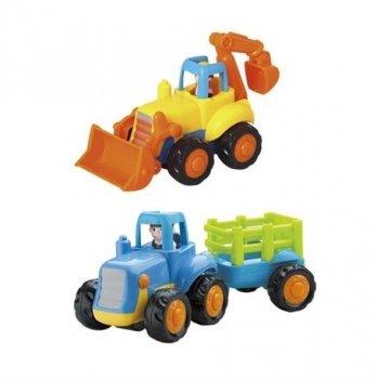 Набор игрушек Hola Toys 326AB Сельхозмашинка 6 шт