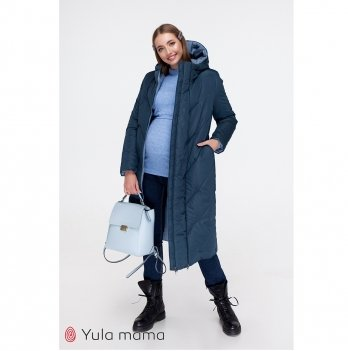 Зимняя куртка для беременных двухсторонняя MySecret Tokyo Синий OW-49.023