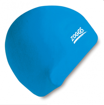 Шапочка для плавания Zoggs Junior Silicone Cap, голубая