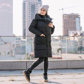 Куртка зимняя для беременных и слингоношения Love & Carry® Блэк