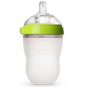 Антиколиковая бутылочка Comotomo 250 мл (Green)