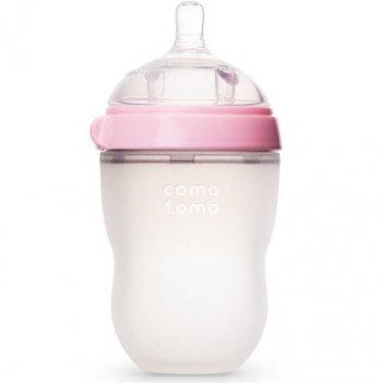 Антиколиковая бутылочка Comotomo 250 мл (Pink)