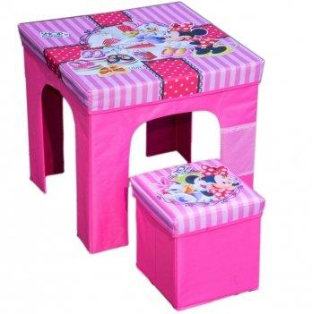 Раскладной комплект мебели Arditex Минни Маус, розовый