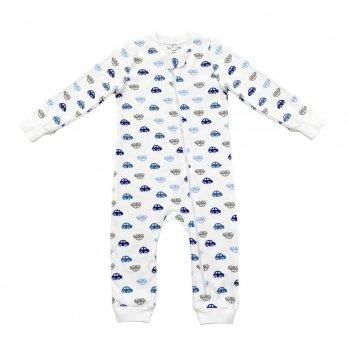 Человечек детский Sasha Машинки Голубой 6-24 месяцев 4670/2