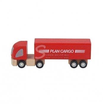 Деревянная машинка PlanToys® Грузовой автомобиль (фура)