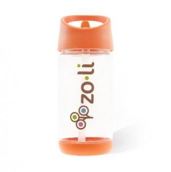 Бутылочка для воды ZoLi SQUEAK, 350 мл, Orange