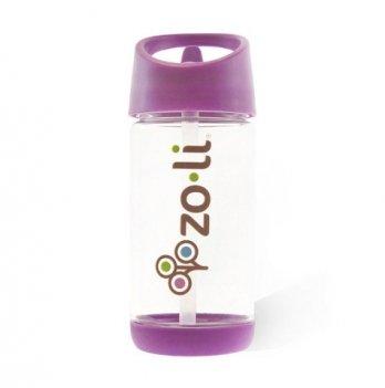 Бутылочка для воды ZoLi SQUEAK, 350 мл, Purple