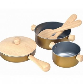 Деревянная игрушка PlanToys® Набор кухонной посуды
