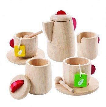 Деревянный игрушечный набор PlanToys® Чайный сервиз