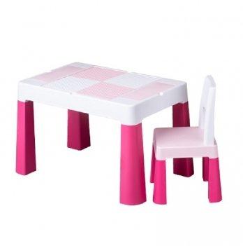 Детский стол и стул Tega baby Multifan Розовый MF-001-123