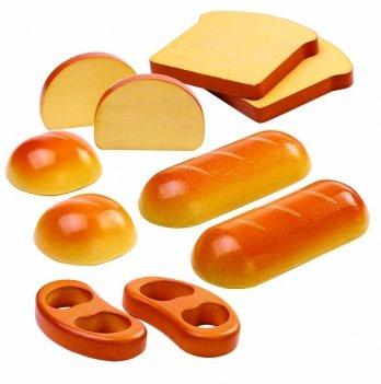 Деревянный игрушечный набор PlanToys® Набор хлебных изделий