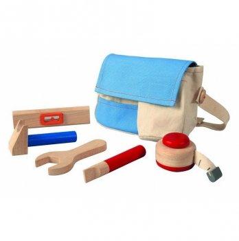 Деревянный игрушечный набор PlanToys® Пояс для инструментов