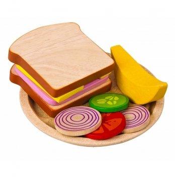 Деревянный игрушечный набор PlanToys® Сандвич