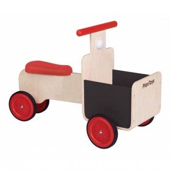 Деревянная игрушка PlanToys® Грузовой велосипед